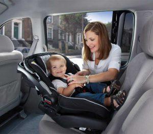Pastikan child car seat terpasang dengan benar