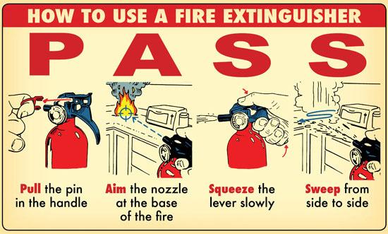 kebakaran PASS
