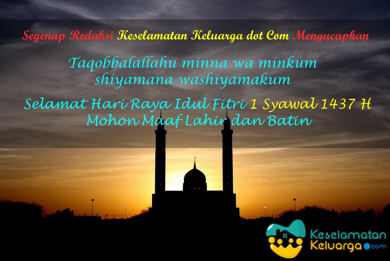 Idul Fitri 1437