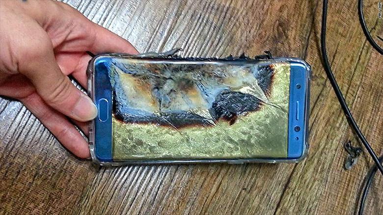 Ledakan pada smartphone Galaxy Note 7