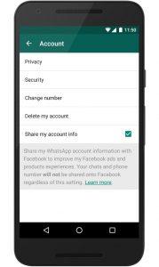 Setting Privasi Whatsapp