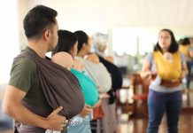 babywearing workshop