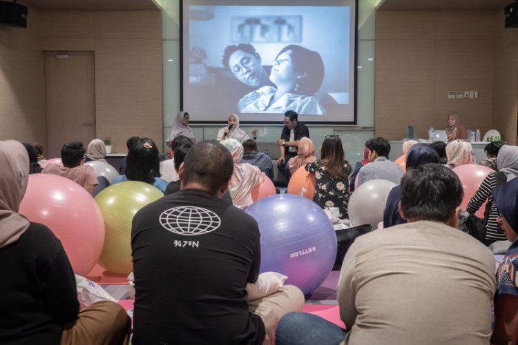 Sesi talk show kelas persalinan Gentle Birth - BIMU & FYCom