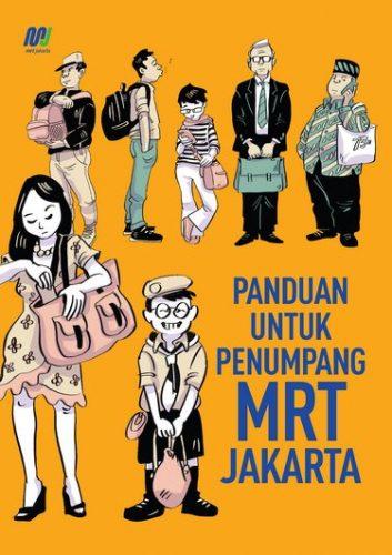 Komik panduan penumpang MRT