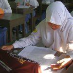 Suasana ujian nasional - ilustrasi